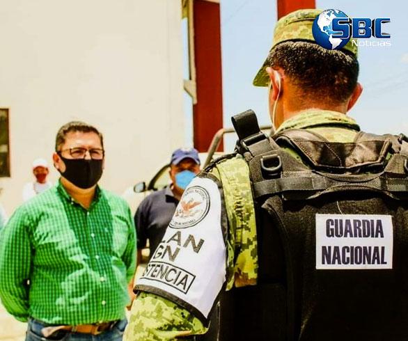 Destacamento de la Guardia Nacional refuerza seguridad en Cuetzalan